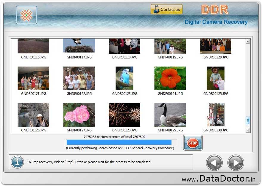 Retrieve recover repair restore digital camera deleted ...