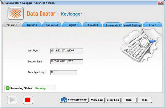 Remote Keyboard Monitor Tool